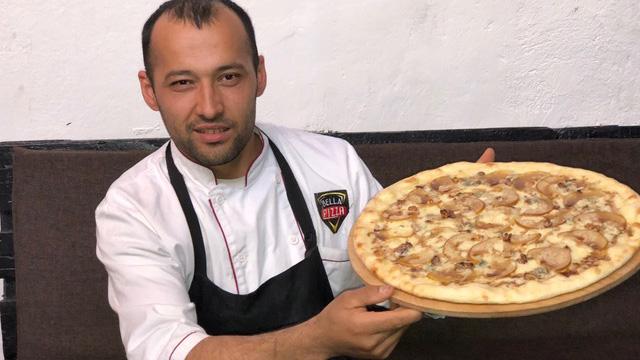 Pizzeria in Central Asia